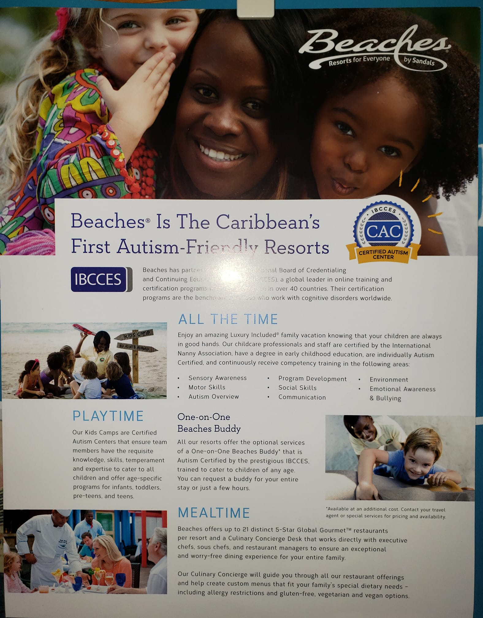 Beaches Resorts The Caribbeans first Autism Friendly Resort. Let me tell you a... Pick and Pack Travel llc