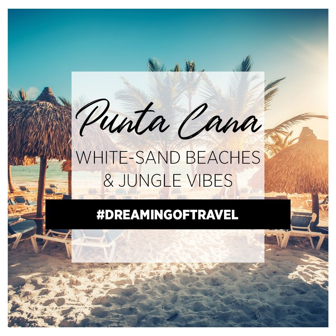 Enjoy beautiful beaches in Punta Cana! Give me a call! Pick and Pack Travel llc