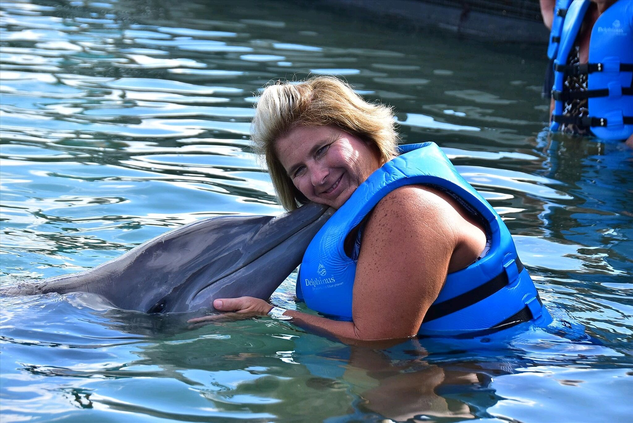 Pick and pack travel swam with the dolphins. It was truly amazing Pick and Pack Travel llc