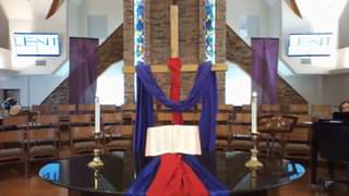 Worship at Frist Congregational UCC, Grand Blanc  Fifth Sunday of Lent